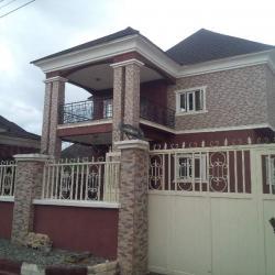 Brand New 5 Bedroom Detached Duplex With 2 Rooms Bq, Gwarinpa Estate, Gwarinpa, Abuja, 5 bedroom, 6 toilets, 6 baths Detached Duplex for Sale