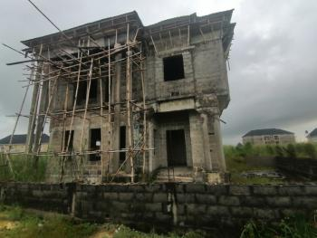 2 Units of an Uncompleted 4 Bedrooms Duplex on 700sqm Land, Owode, Bus-stop, Ado, Ajah, Lagos, Detached Duplex for Sale