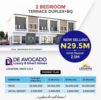 De Avocado Luxury and Smart Home, 2 Bedroom Terrace Duplex with Bq, Caleb British International School, Corona School, Abijo Gra, Abijo, Lekki, Lagos, Terraced Duplex for Sale