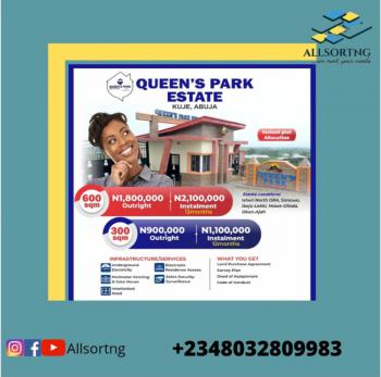 Cheap Land in The Serene Neighbourhood, Queens Garden Estate, Kuje, Abuja, Residential Land for Sale