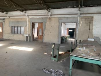 18,000 Square Feet Warehouse in a Self Compound, Oba Akran, Ikeja, Lagos, Warehouse for Rent