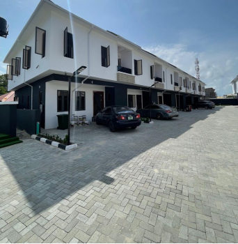 4 Bedrooms Terrace Duplex with Swimming Pool, 2nd Tollgate, Lekki Phase 2, Lekki, Lagos, Terraced Duplex for Rent
