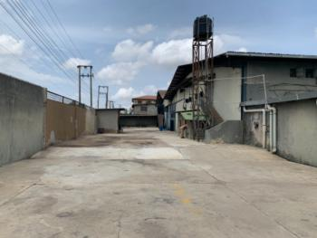 18,000 Square Feet Factory with Administrative Office Building, Okota, Isolo, Lagos, Warehouse for Sale