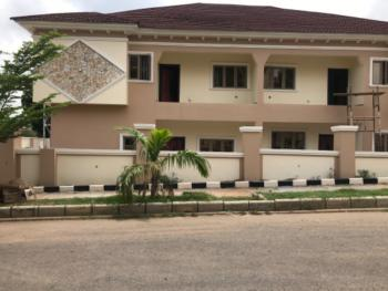 Brand New 4 Bedrooms Twin Duplexes with Bq & Separate Gate Each, Maitama District, Abuja, Semi-detached Duplex for Rent