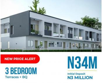 3 Bedrooms Terraced Duplex, Abijo Gra, Lekki Phase 2, Lekki, Lagos, Terraced Duplex for Sale