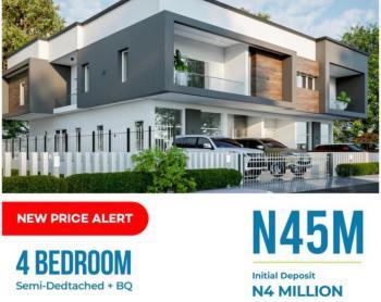 4 Bedrooms Semi Detached Duplex, Abijo Gra, Lekki Phase 2, Lekki, Lagos, Semi-detached Duplex for Sale