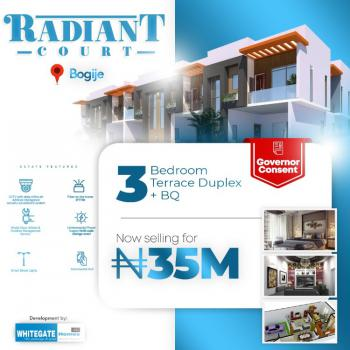 3 Bedrooms Terraced Duplex, Radiant Court, Desa, Bogije, Ibeju Lekki, Lagos, Detached Duplex for Sale