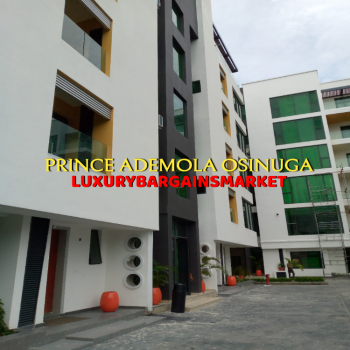 Newly Built 3 Bedroom Apartment + Bq, Elevator, Pool, Gym, Central, Old Ikoyi, Ikoyi, Lagos, Flat / Apartment for Sale
