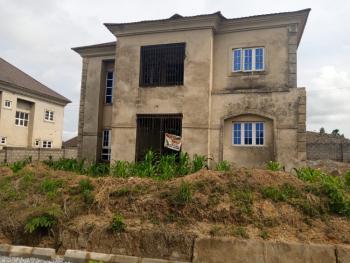 4 Bedroom Detached Duplex Carcass, Rainbow Estate By Goshen Villa, Pyakasa, Lugbe District, Abuja, Detached Duplex for Sale