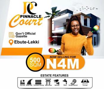 Pinnacle Court with Gazette Title Free From Government Acquisition, Lekki Seaport , Lekki Free Trade Zone, Lekki Ancient Town, Eleko, Ibeju Lekki, Lagos, Residential Land for Sale
