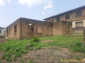 Uncompleted Building on a Plot of Land, Challenge, Ibadan, Oyo, Residential Land for Sale
