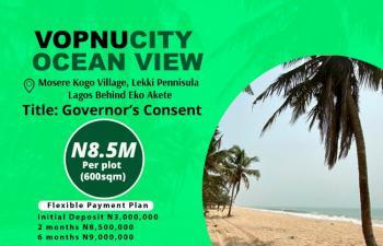 100% Dry Land with Instant Allocation, Vopnucity Mosere Kogo Villa Behind Eko Akete Lekki Peninsula, Ibeju Lekki, Lagos, Mixed-use Land for Sale