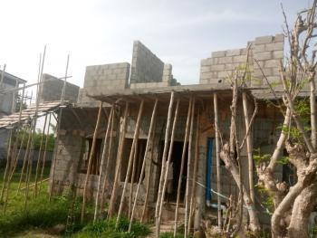 Five Bedroom Carcass, Close to Dantata Estate, Kubwa, Abuja, Terraced Duplex for Sale