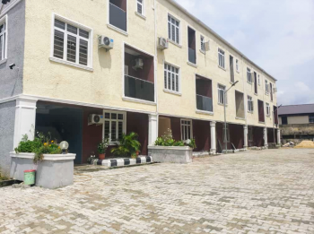 4bedroom Carcass with a Room Bq Behind Stadium, Surulere, Surulere, Lagos, Terraced Duplex for Sale