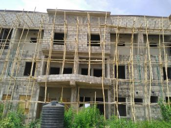 4-bedroom Terraced Duplex with Bq (roofed Carcass), Lugbe District, Abuja, Terraced Duplex for Sale