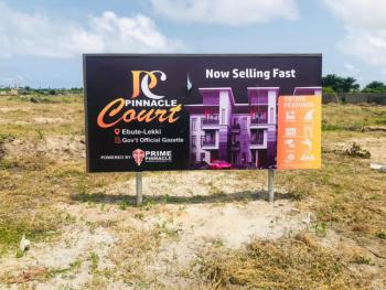 Available Buy and Build Landed Property with High Appreciation Worth, Pinnacle Court Estate, Ibeju Lekki, Lagos, Residential Land for Sale