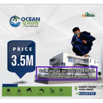 Beachfront Land, Ocean Pearl Extension, Igando Orudu, Ibeju Lekki, Lagos, Residential Land for Sale