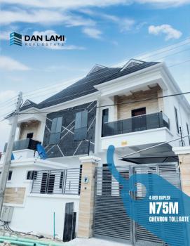 Luxury 4 Bedroom Semi Detached Duplex with a Bq, 2nd Tollgate, Lekki Phase 2, Lekki, Lagos, Semi-detached Duplex for Sale