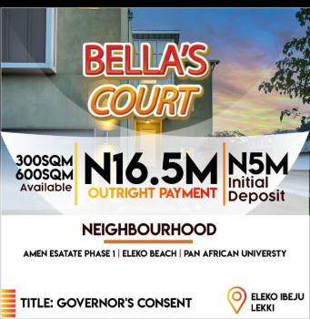 Affordable Dry Land with Governors Consent , Selling Fast Estate, Beside Amen Estate, Eleko, Ibeju Lekki, Lagos, Residential Land for Sale