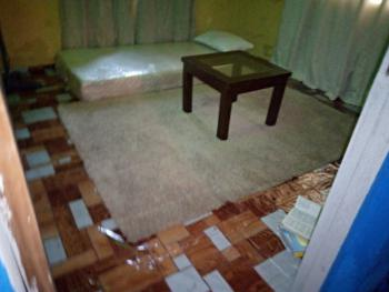 Furnished Room in a Flat, Ajegunle, Close to Irawo, Kosofe, Lagos, Self Contained (single Rooms) for Rent