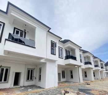 4 Bedroom Semi Detached Duplex with Bq in a Secured Estate, Chevron Toll Gate, Lekki, Lagos, Semi-detached Duplex for Sale
