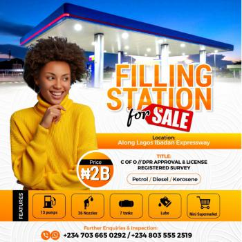 Spacious and Functional Filling Station, Lagos Ibadan Expressway, Ibafo, Ogun, Filling Station for Sale