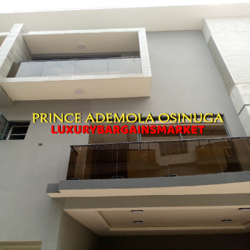 Newly Built 4 Bedroom Semi Detached House, Parkview Estate, Parkview, Ikoyi, Lagos, Semi-detached Duplex for Rent