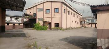 Warehouse with Office Block and Parking Space, Wharf Road, Apapa, Lagos, Warehouse for Rent