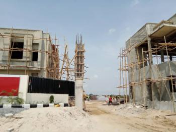 3 Bedroom Maisonette with Bq, Peridot Heights Adjacent Noveral Mall, Sangotedo, Ajah, Lagos, Block of Flats for Sale