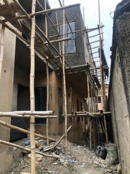 Carcass 3 Bedroom Terrace Duplex Plus Bq, Omole Phase 1, Ikeja, Lagos, Terraced Duplex for Sale