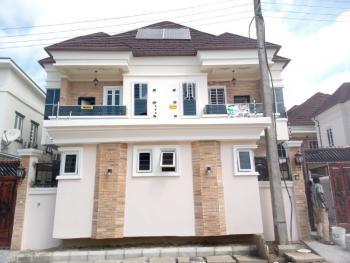 Luxury  4 Semi Bedroom Detached Duplex with Bq in Secured, Ikota, Lekki, Lagos, Semi-detached Duplex for Sale