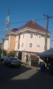 a Lovely & Nice Well Built 3 Bedroom Flat with Pop, Video Is Available, Jebba Street, Off Herbert Macaulay Road, Ebute Metta East, Yaba, Lagos, Flat / Apartment for Rent