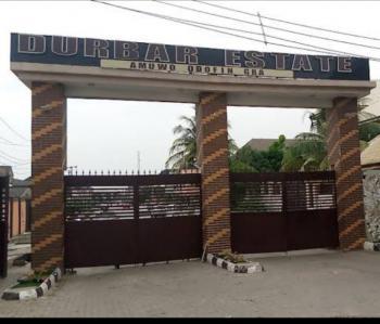 Land, Durbar Estate, Amuwo Odofin, Lagos, Residential Land for Sale