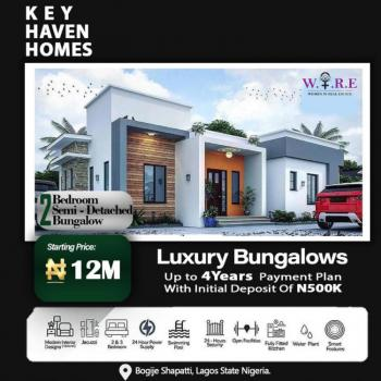2 Bedroom Semi- Detached Bungalow - Key Haven Homes, Shapati, Ibeju Lekki, Lagos, Semi-detached Bungalow for Sale