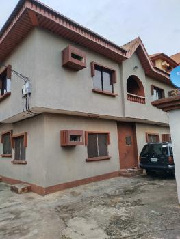 Super Clean&lovely Blk of 4 Flats on a Well Interlocked Commercial Road, Market Square Interlocking, Ago Palace, Isolo, Lagos, Block of Flats for Sale