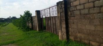 3.7 Hectares Fenced Plot with Governors Consent, Mobil Estate, Off Le Meridien Ibom Hotel Road, Uyo, Akwa Ibom, Land for Sale