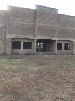 Uncompleted Event Center on 5200sqm Land Plot, Isebo, Off Alakia, Ibadan, Oyo, Commercial Property for Sale