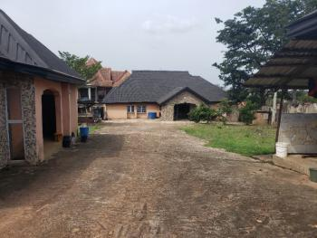 Massive 2 & Half Plots of Land with 5 Bedroom Bungalow & 2 Rooms Bq, Mbaukwu Street Off Vosan Drive,independence Layout, Enugu, Enugu, Mixed-use Land for Sale