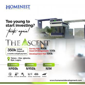 The Ascent: Land with Huge Prospect, Epe, Lagos, Land for Sale