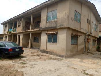 Strategic 4 Units of 3 Bedroom Flats  in a Nice Location Near The Road, 5, Lane 3, Ilori Street, Sanyo Off Lagos Ibadan Expressway, Ibadan, Oyo, Block of Flats for Sale