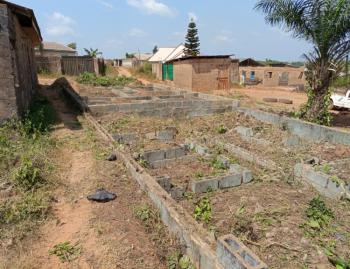 a Half Plot of Land with Foundation, 22, Palm Avenue, Ntabo, Ijoko, Ogun, Residential Land for Sale