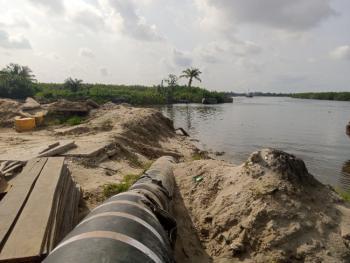 Land, Ijegun, Satellite Town, Ojo, Lagos, Tank Farm for Sale