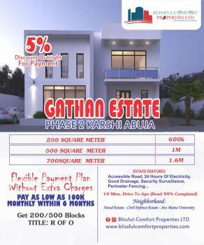Land, Naval Estate, Civil Defence Estate & Ave Maria University, Karshi, Abuja, Residential Land for Sale