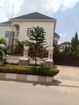 Serviced 4 Bedroom Duplex with a Bq, Off Coza Church, Guzape District, Abuja, Semi-detached Duplex for Rent
