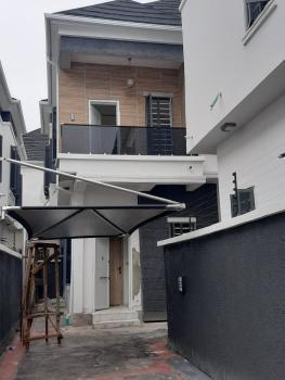 Newly Built 4 Bedroom Semi-detached+bq in a Serviced Estate, Lafiaji, Lekki, Lagos, Semi-detached Duplex for Sale