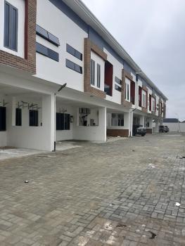 Newly Built 4 Bedroom Terraced Duplex+bq Located in a Serviced Estate, Opp Orchid Hotel, Lafiaji, Lekki, Lagos, Terraced Duplex for Sale