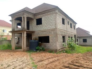 an Open 4 Bedroom Fully Detached Duplex (carcass) with Bq, Wumba, Apo, Apo, Abuja, Detached Duplex for Sale