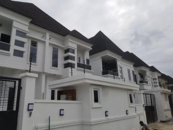 Semi Detached 4 Bedroom Duplex with a Room Bq, Osapa, Lekki, Lagos, Semi-detached Duplex for Rent