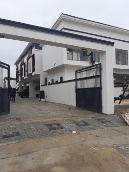 4 Bedroom Semi-detached Duplex in a Serviced Estate, Opp Orchid Hotel, Lafiaji, Lekki, Lagos, Semi-detached Duplex for Sale