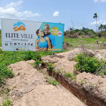 Premium Land in a Developed Environment, Agodo Igbola Epe, Epe, Lagos, Residential Land for Sale